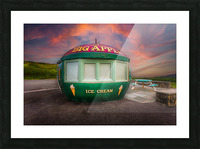 Big Apple Kiosk in Mumbles Picture Frame print
