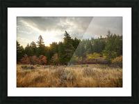 Gibson Jack Autumn Sunrise Picture Frame print