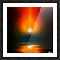 Life energy Picture Frame print