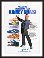1979 Kinney NBA Shoes Ad Picture Frame print