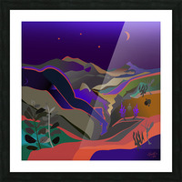 Dreaming at Lookout Mountain Picture Frame print