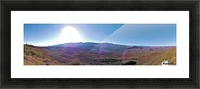 Sunset Point Sun Picture Frame print