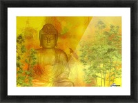 Buddha Picture Frame print