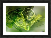 Frog Picture Frame print