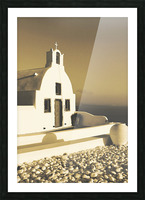The Small Chapel Picture Frame print
