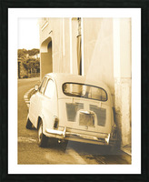 The old Car Picture Frame print