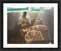 The Nutmeg Sorter Picture Frame print