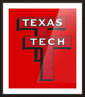 1948 Texas Tech Art Picture Frame print