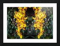 flower55 Picture Frame print