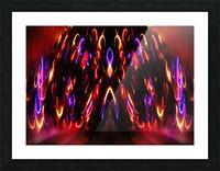 Lights15 Picture Frame print