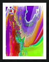 Sacred colors Picture Frame print