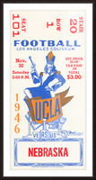 1946 UCLA vs. Nebraska Picture Frame print