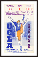 1947 UCLA vs. Washington Picture Frame print