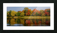 Fall in love with fall Picture Frame print