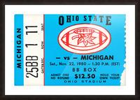 1980 Ohio State vs. Michigan Picture Frame print