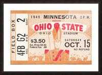 1949 Ohio State vs. Minnesota Picture Frame print