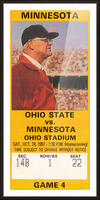 1987 Ohio State vs. Minnesota Picture Frame print