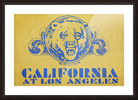 1938 California at Los Angeles Picture Frame print