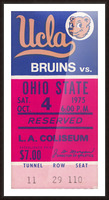 1975 UCLA vs. Ohio State Picture Frame print