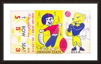 1955 Oregon State vs. UCLA Picture Frame print
