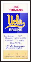 1972 USC vs. UCLA Picture Frame print