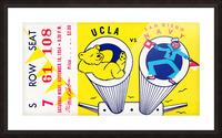 1954 UCLA vs. San Diego Navy Picture Frame print