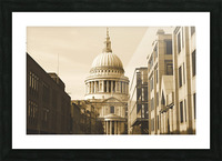 London - St  Pauls Cathedral Picture Frame print