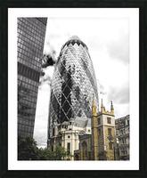 The Skyscraper Impression et Cadre photo