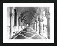 Doge's Palace archway in Venice, Italy Picture Frame print
