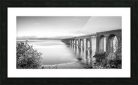 Tay Rail Bridge, Dundee, Scotland Picture Frame print