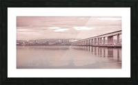 Tay Road Bridge over river Tay, Dundee, Scotland Picture Frame print