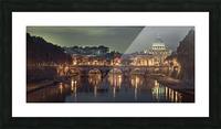 View of Basilica di San Pietro in Vatican, Rome, Italy Picture Frame print