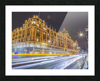 Harrods, London Picture Frame print