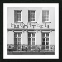 Hotel in Windosr Picture Frame print