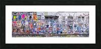 Graffiti, Brick Lane, London Picture Frame print