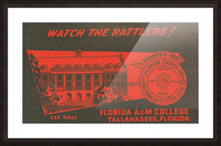 1950 Florida A&M Picture Frame print