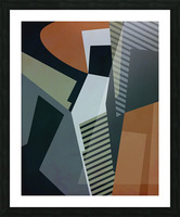 Abstract Composition 1132 Picture Frame print