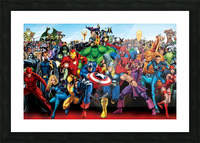 R-eady for battle Picture Frame print