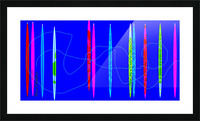 HorizonBlue Picture Frame print