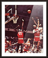 1981 Indiana Basketball Art Picture Frame print