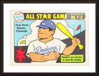 1974 Baseball All-Star Game Picture Frame print