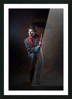 Auguste et espoir Picture Frame print