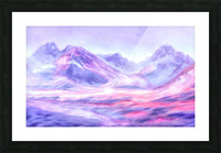 Mount Fairweather Canada Picture Frame print