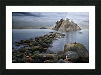 Whytecliff Park Picture Frame print