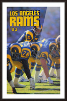 1983 Los Angeles Rams Picture Frame print