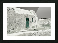 The green door Impression et Cadre photo