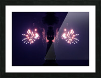 Lights51 Picture Frame print
