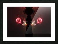 Lights54 Picture Frame print