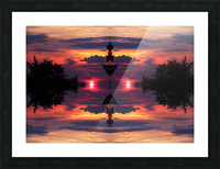 clouds256 Picture Frame print