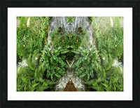 green4 Picture Frame print